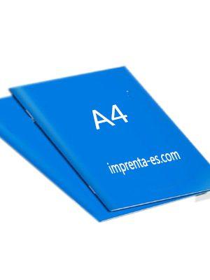 Revistas A4 ejemplo