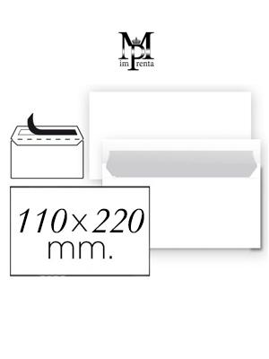 Sobres 110mm x 220mm ejemplo