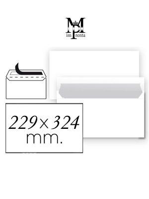 Sobres 229mm x 324mm ejemplo