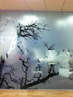Vinilo cido para cristales imprenta online - Cristales para paredes ...