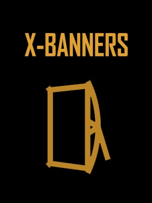 x banners