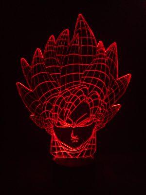 lampara 3d geko