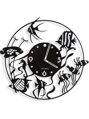 reloj de pared pescados
