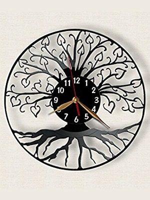reloj de pared arbol