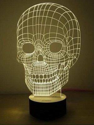 lampara 3d skeleton