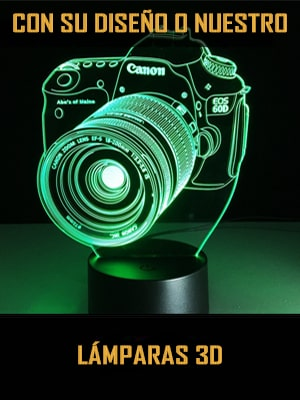 Lámparas 3D personalizadas