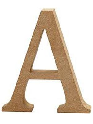 letras de madera MDF
